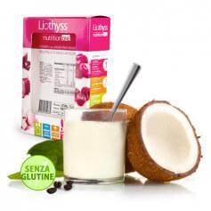 Entremets Protéiné Noix de Coco Chocolat Sans Gluten Liothyss