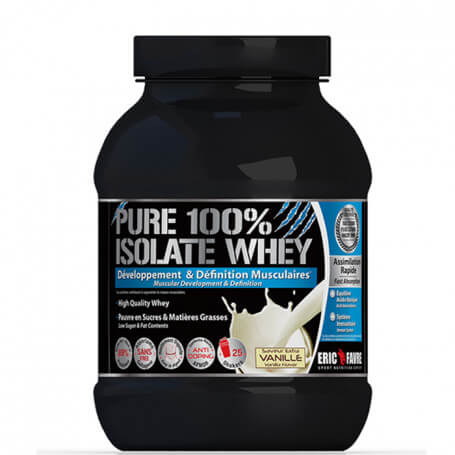 Pure 100% Isolate Whey Vanille - 750g