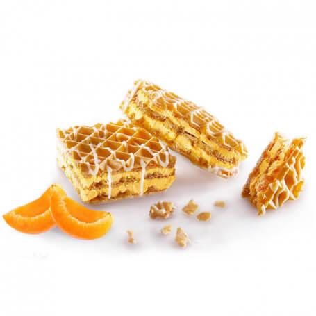 Gaufrettes Abricot Protéinées