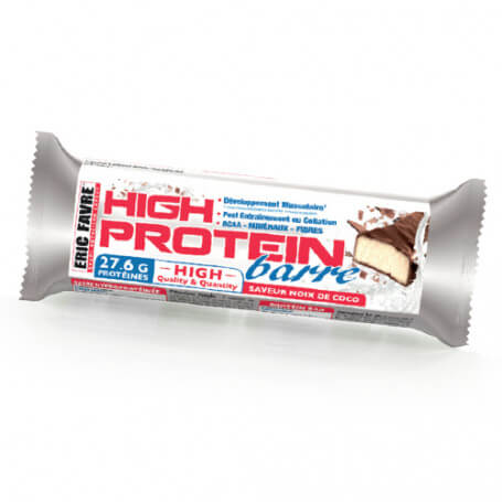 High Protein Barre Saveur Noix de Coco