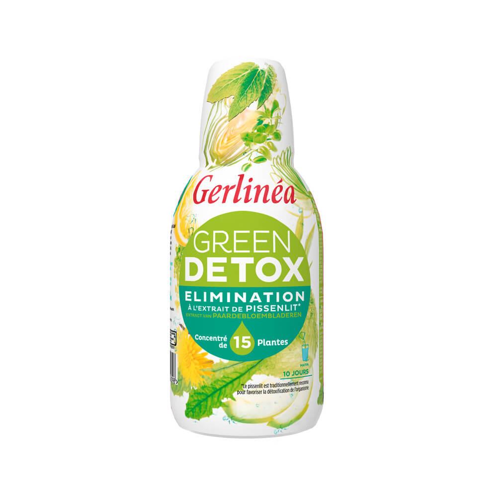 Gerlinéa Green detox bouteille de 500 ml