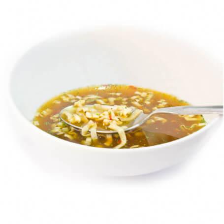 Bouillon Asiatique avec Noodle protéiné - MinceurD