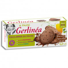 Biscuits chocolat cacao Gerlinéa