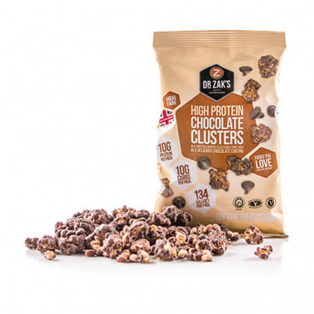 High Protein Clusters Chocolat - Dr Zak's