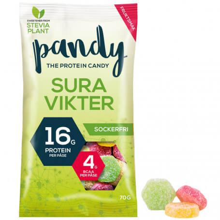 Bonbons protéinés goût Fruits PANDY Protein