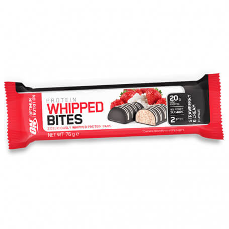 Barre Mousse Fraise Whipped Bites Optimum Nutrition