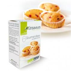 Mini-cake aux fruits protéinés Nutrisaveurs