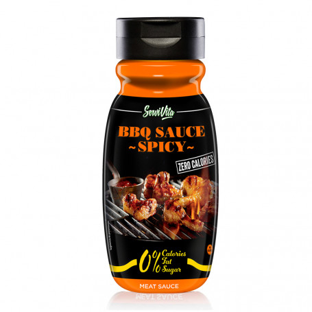 Sauce Barbecue SPICY - ZERO CALORIES Servivita