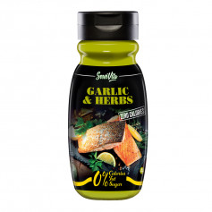 Sauce Ail et Fines Herbes - ZERO CALORIES Servivita