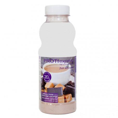 Boisson protéinée Chocolat Caramel ProtiExpress