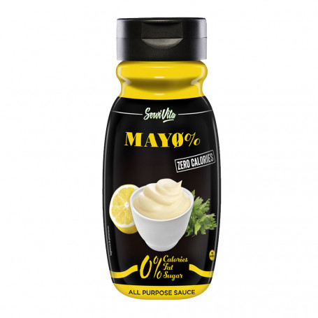 Sauce MAYO 0% - ZERO CALORIES Servivita