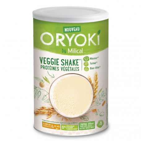 MILICAL ORYOKI Eco recharges Veggie shake 8 portions