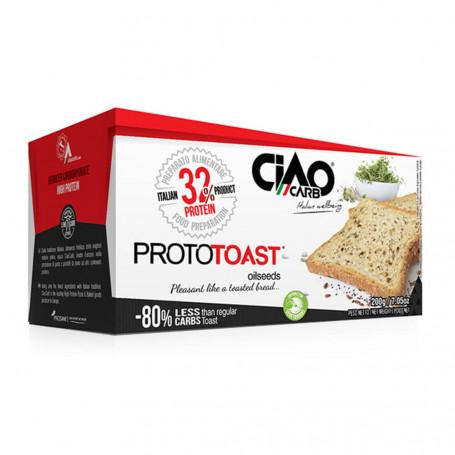 Ciao Carb ProtoToast Stage 1 -Toast protéinés aux graines Boîte de 4
