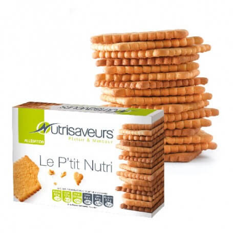 Biscuits natures P'tit Nutri