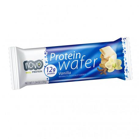 Novo Nutrition Gaufrette protéinée Vanille à l'unité