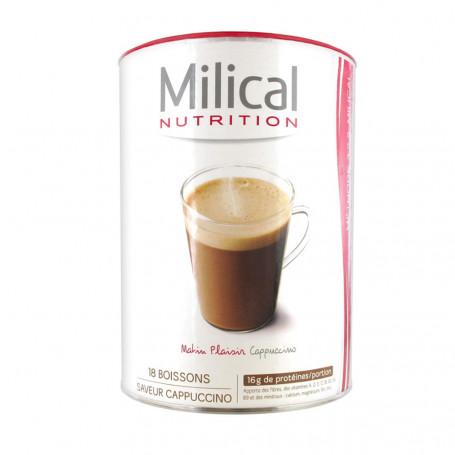 MILICAL Boisson hyperprotéinée CAPPUCCINO Pot ECO 18 portions