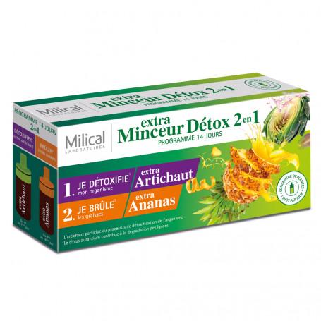 Milical Extra Minceur Détox 2 en 1 Programme 14 Jours